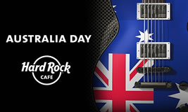 Australia Day at the Hard Rock Cafe