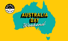 Australia Day Weekend at the Bridge Hotel