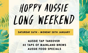 Australia Day Long Weekend at Hopscotch