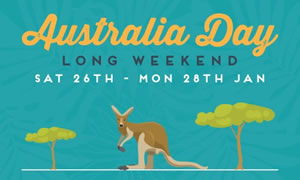 Australia Day Long Weekend Riverside Party at the Wharf