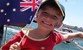 Australia Day with Sydney Harbour Escapes